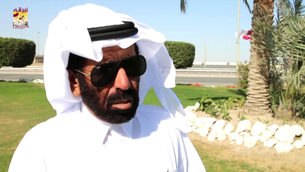 لقاء مع سالم بن فاران المري متحدثاً عن فوز هجن الشحانية برموز سن اللقايا مساء ٤-٣-٢٠١٩