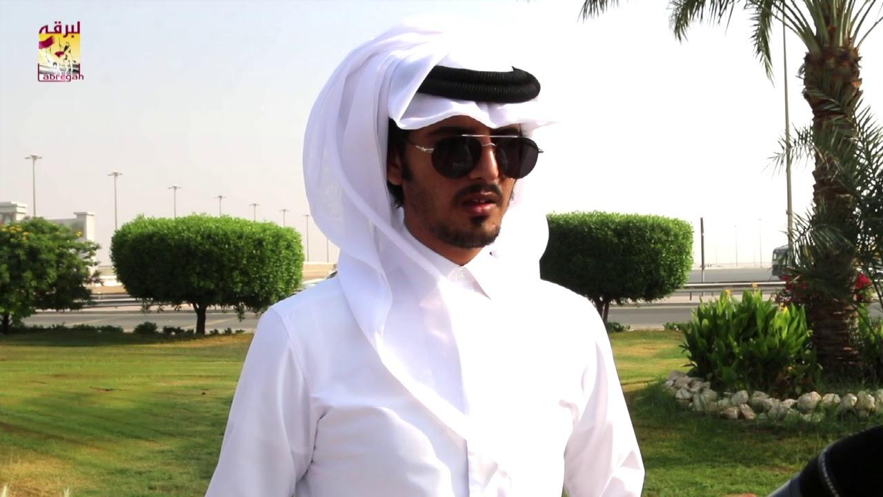 لقاء مع حمد بن عايض الحنزاب الشوط الرئيسي للجذاع بكار عمانيات صباح ١٢-١٠-٢٠١٩