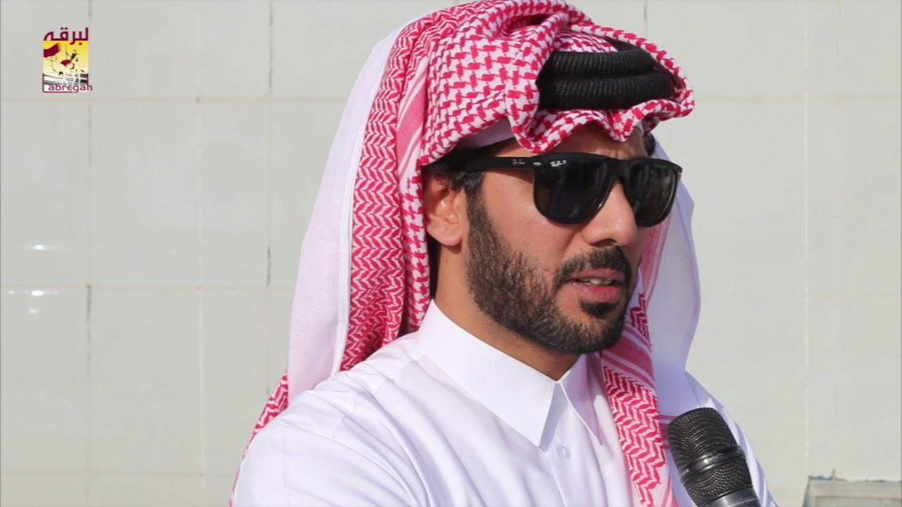 لقاء مع ناصر عبدالله المسند متحدثاً عن الفوز بثلاثة رموز في سن الجذاع بمهرجان سمو الأمير الوالد  ٧-٣-٢٠١٨