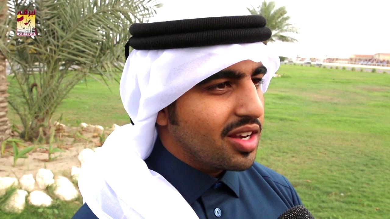 لقاء مع حمد بن هزاع أبو شريدة الشوط الرئيسي للجذاع قعدان المفتوح صباح ١٢-١-٢٠١٩