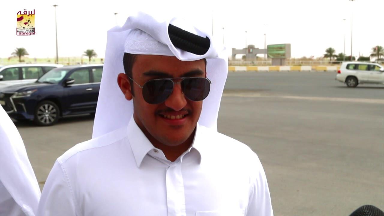 لقاء مع عبدالله محمد خالد العطية الخنجر الفضي للقايا قعدان مفتوح مهرجان سمو الأمير المفدى مساء ٢-٤-٢٠١٩