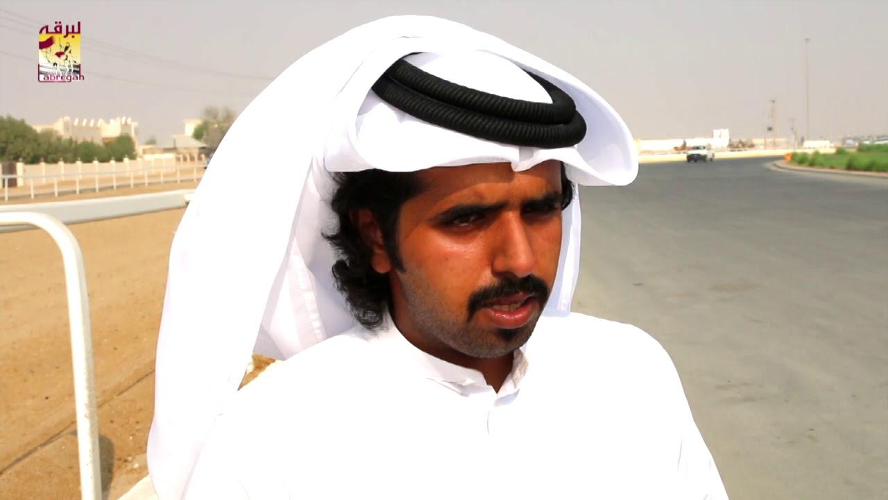 لقاء مع محمد بن حمد بن جهويل الشوط الرئيسي للجذاع قعدان المفتوح صباح ٢٥-٩-٢٠١٩