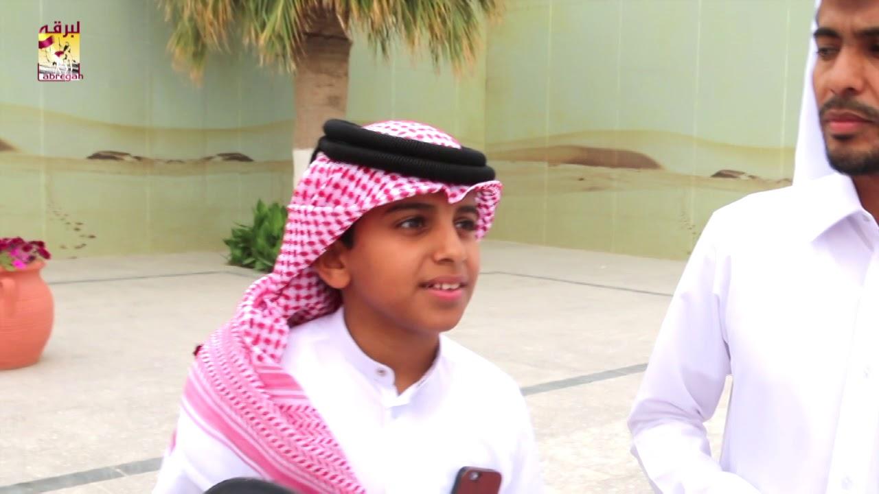 لقاء مع حمد بن محمد الزعبي الفائز بسيارة الشوط الثالث في سباق الهجن التراثي صباح ٥-٤-٢٠١٩