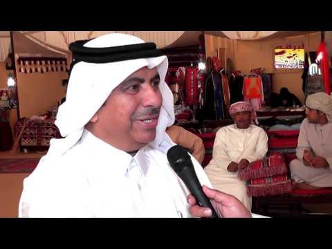 لقاء خاص مع سعادة الشيخ حمد بن جاسم بن فيصل آل ثاني -علي هامش مهرجان سباق سمو الأمير ٢٣-١-٢٠١٤