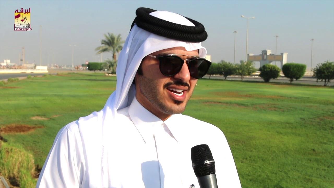 لقاء مع سلطان حمد تريحيب بن نايفة الشوط الرئيسي للزمول إنتاج صباح ١٧-١٠-٢٠١٩