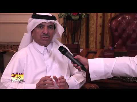 لقاء خاص مع سعادة الشيخ حمد بن جاسم بن فيصل آل ثاني ،،، رئيس اللجنة المنظمة لسباقات الهجن – بمناسبة الاستعدادات لمهرجان المؤسس ١٣-١٢-٢٠١٤