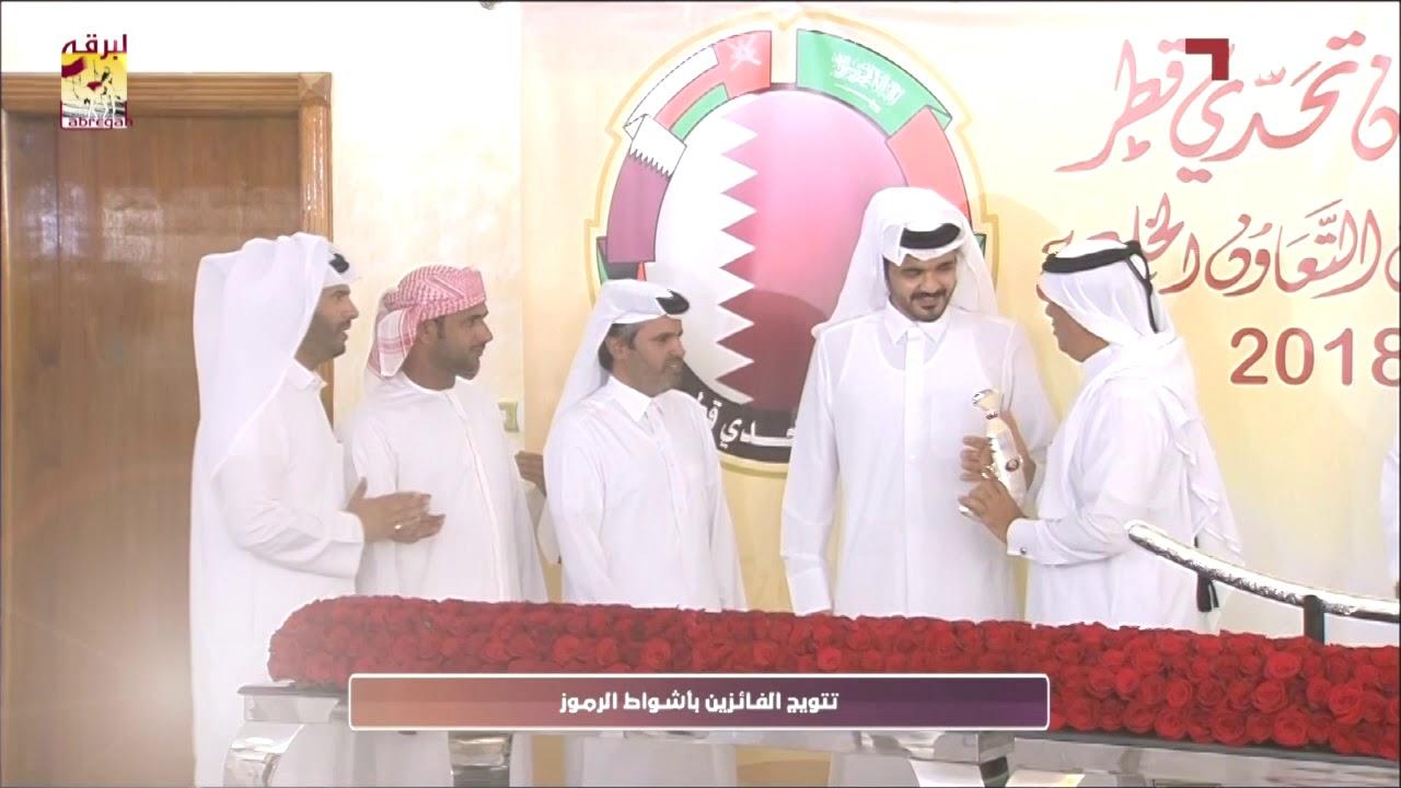 لقاء مع جارالله بن حمد بن سالمين الفائز بالخنجر الفضي للزمول مهرجان تحدي قطر ١٠ ٥ ٢٠١٨