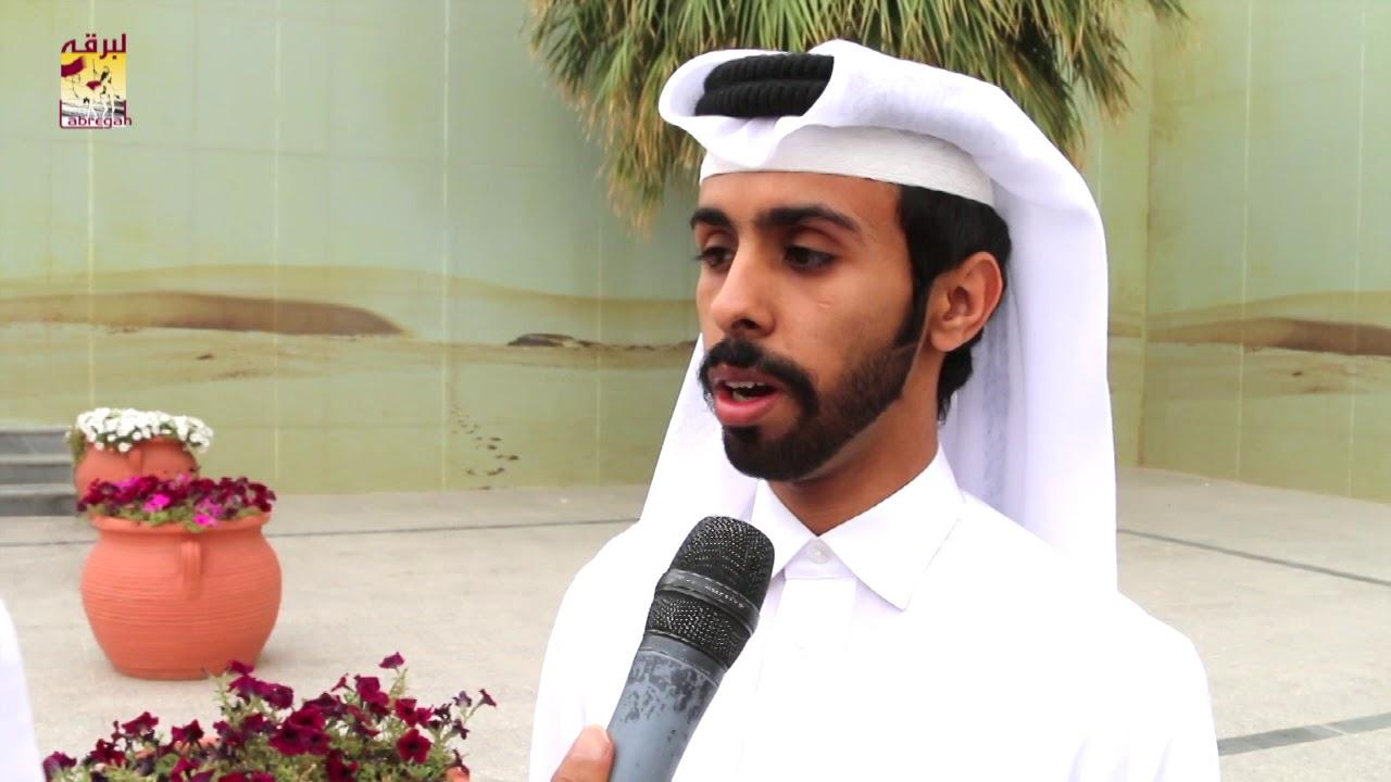 لقاء مع راشد بن علي الصعاق متحدثاً عن فوز . متعب بن علي الصعاق بسيارة السباق التراثي صباح ٥-٤-٢٠١٩