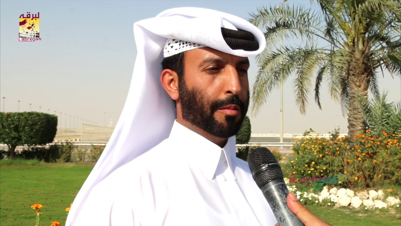 لقاء مع المضمر- محمد بن برقان المقارح الفائز بالأشواط الرئيسية لسن الحقايق الأشواط المفتوحة بالمحلي التاسع  ٢١-٣-٢٠١٨