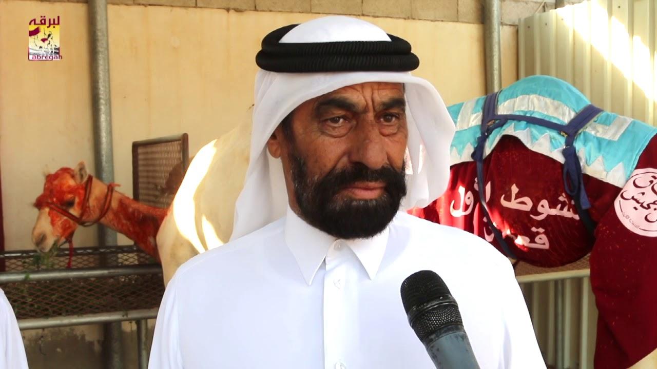 لقاء مع مبارك عبدالله ال سفران الخنجر الذهبي للمفاريد قعدان (مهرجان ال جحيش) صباح  ٢٨-٦-٢٠١٩