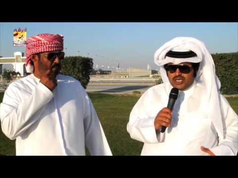 لقاء مع المضمر راشد حمد الزرعي الفائز بالشوط الرئيسي للحيل الفترة الصباحية بمهرجان المؤسس ٢٩-١٢-٢٠١٥